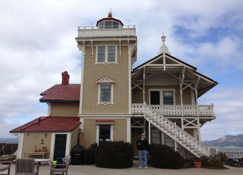 CHL #951  East Brother Light Station - Lighthouse Inn