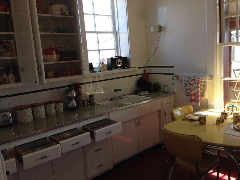 NO. 951 POINT SUR LIGHT STATION - Living Quarters kitchen