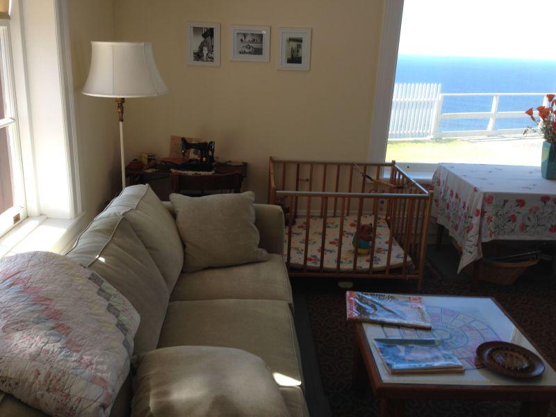 NO. 951 POINT SUR LIGHT STATION - Livingroom