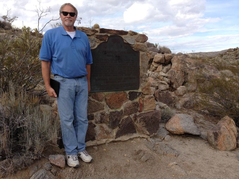 NO. 647 BUTTERFIELD OVERLAND MAIL ROUTE - State Marker