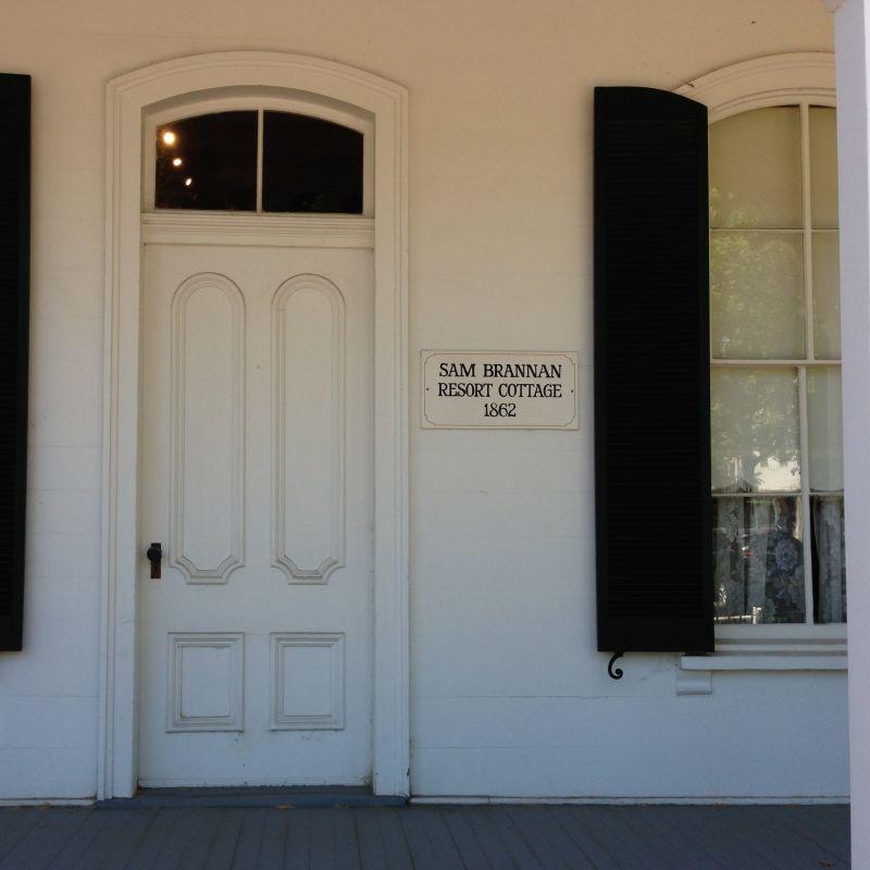 NO. 685 SAM BRANNAN COTTAGE - Front Door