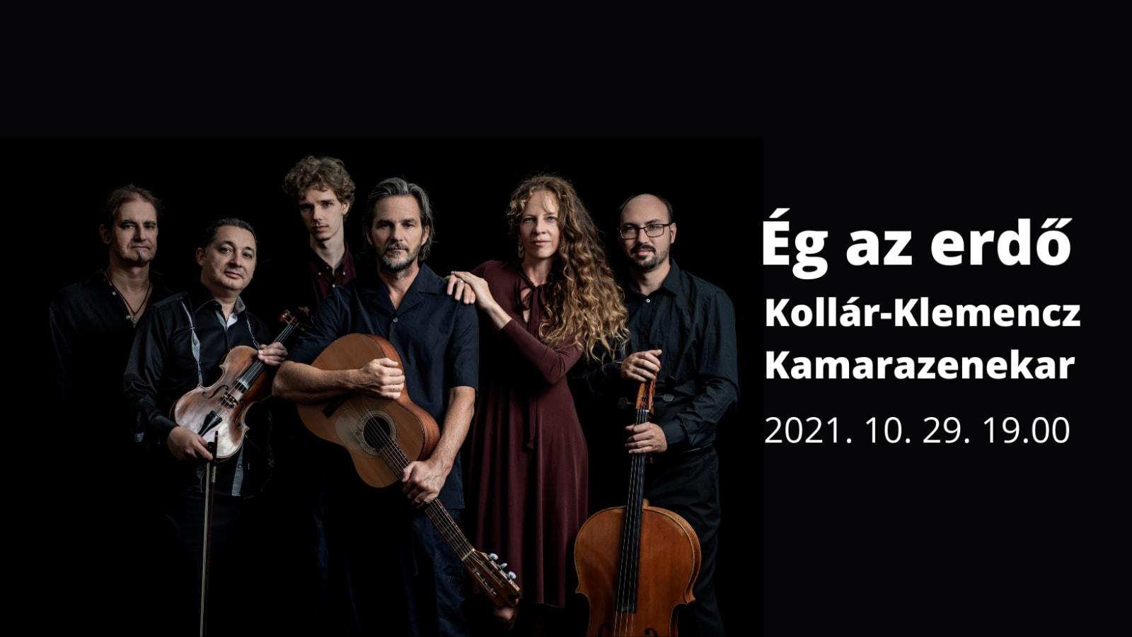 ZENE SZÓVAL - Kollár-Klemencz Kamarazenekar koncert