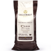 Callebaut 70-30-38 70% extra bitter dark chocolate couverture callets