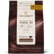 Callebaut Power 80 80% dark chocolate couverture callets