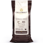 Callebaut 815 56.9% dark chocolate couverture callets