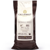Callebaut 811 54.5% dark chocolate couverture callets