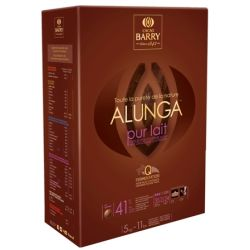 Cacao Barry Purity from Nature Alunga 41.3% milk chocolate couverture pistoles