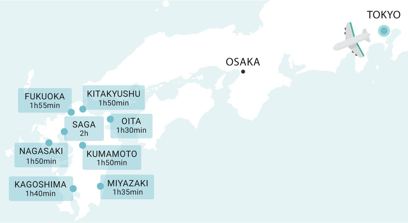 Where is Kyushu?
