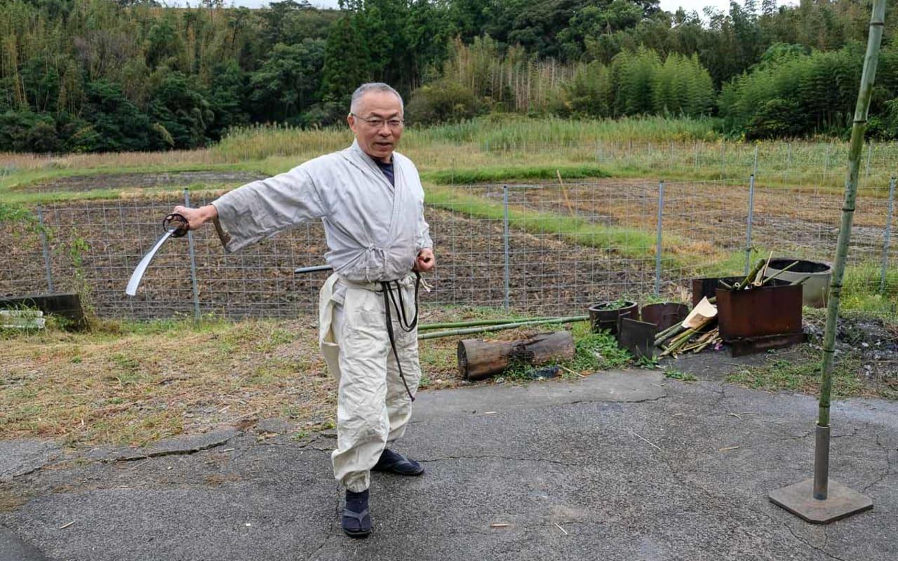 Japan's Master Swordsmith Kunimasa