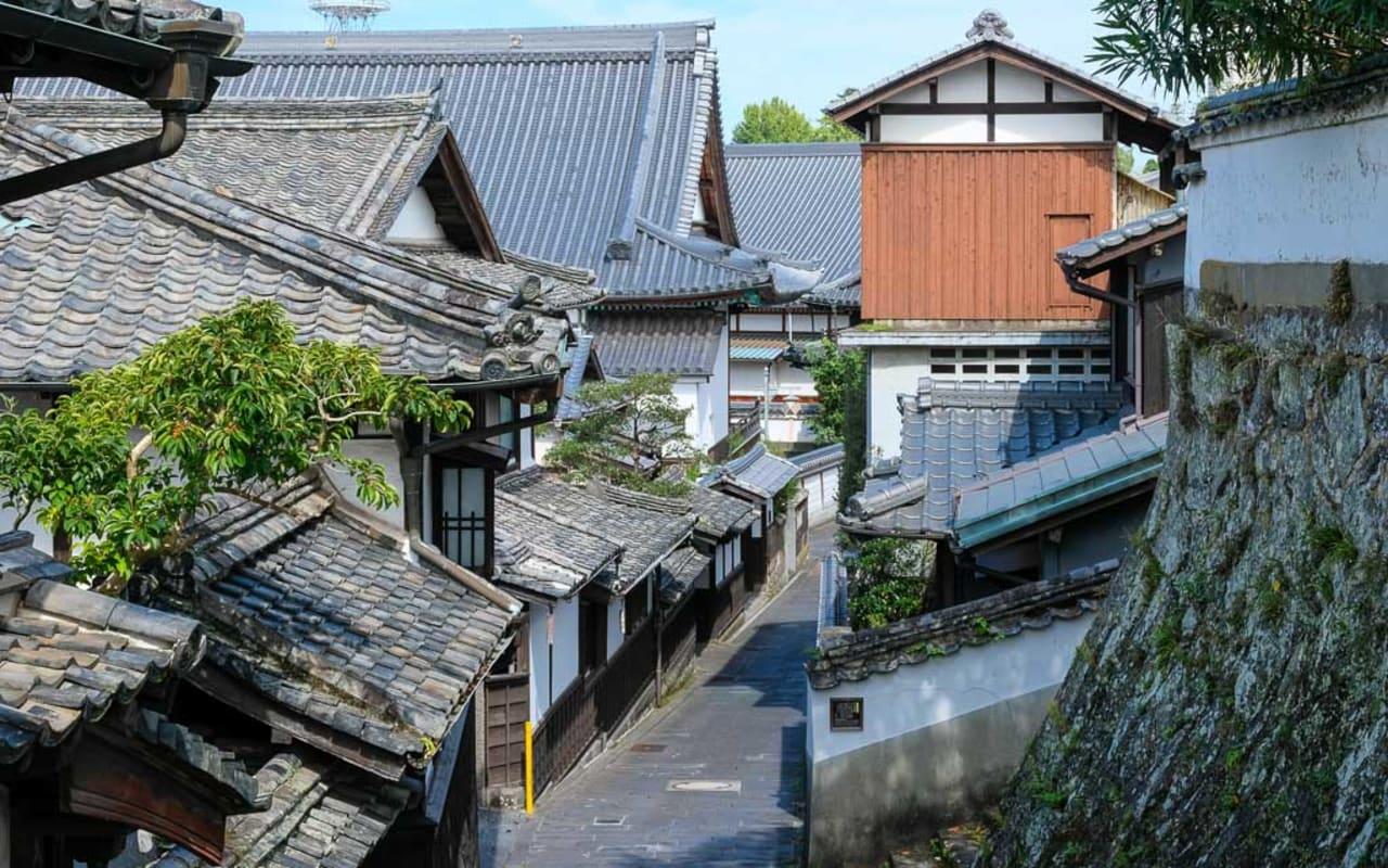 Usuki's Samurai District and Edo Period Castle Town