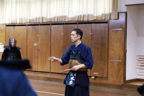 Kendo Training With the University of Teacher Education Fukuoka