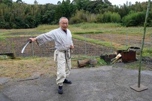 Japan's Master Swordsmith Kunimasa of Hyuga City