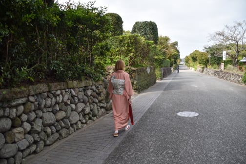 Visit one of Japan's largest samurai residences in Izumi