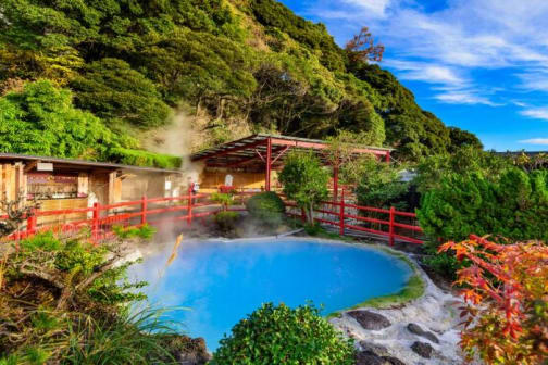 Stimulate your senses in the unparalleled onsen of Oita Prefecture