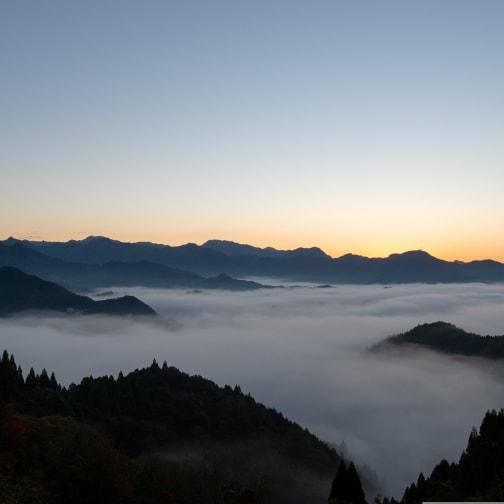Sea of clouds in Kunimigaoka