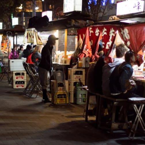 Yatai in Fukuoka: Sitting at the Counter with History