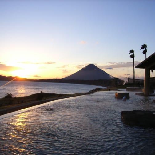 """Tamatebako"" Outdoor Hot Springs"