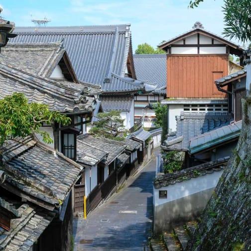 Usuki Streetscape