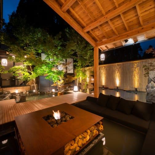 Unexplored region Shirakawa source mountain villa Takefue
