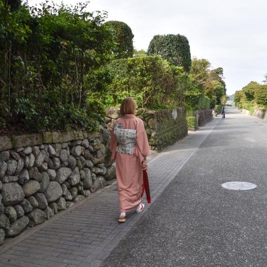Kimono Experience at Izumi-Fumoto's History Museum