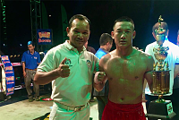 The Siem Reap boxing golfer promises...