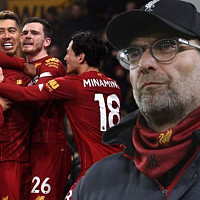 Liverpool boss Jurgen Klopp sends...