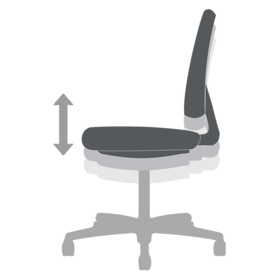 Chair Functions Pneumatic Seat Height Adjustment