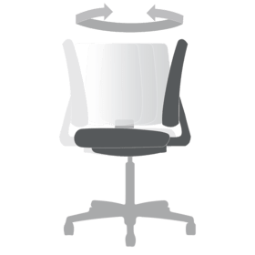 Chair Functions 360 degree swivel