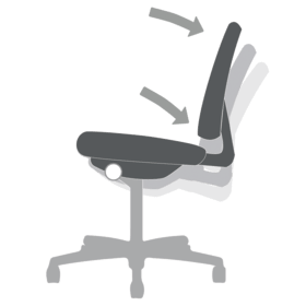 Chair Functions Mid-range Knee Tilt
