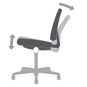 Chair Functions Synchro-Tilt