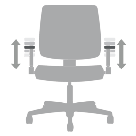 Chair Functions Adjustable height Arms