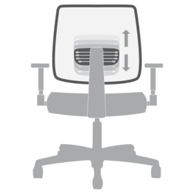 Chair Functions Adjustable Lumbar Support