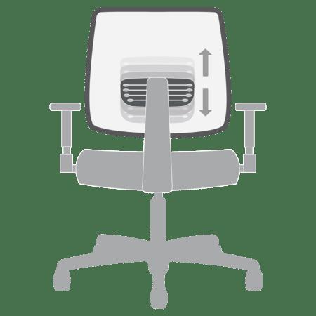 Adjustable Lumbar Support Animation