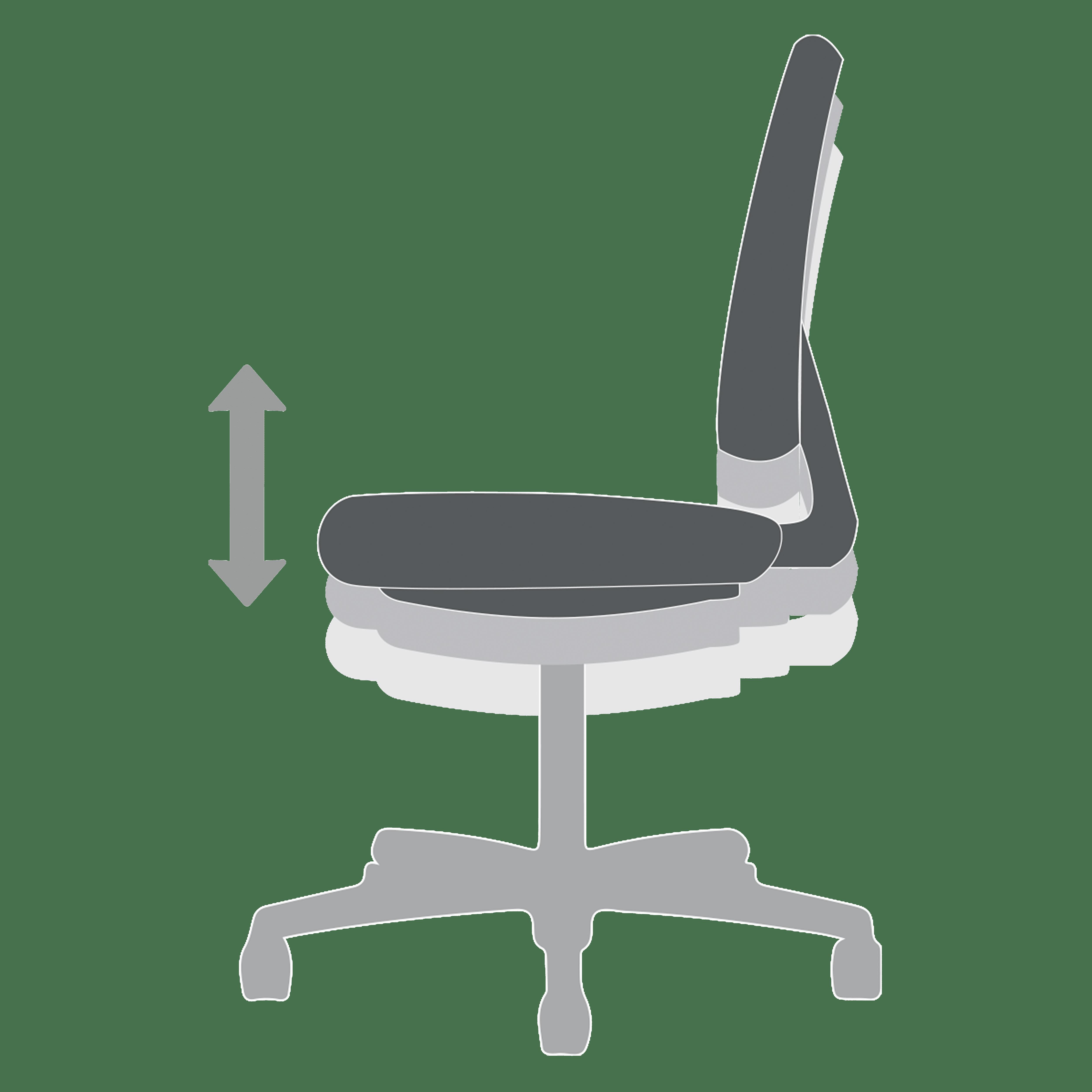 A-Pneumatic-Seat-Height-Adjustment