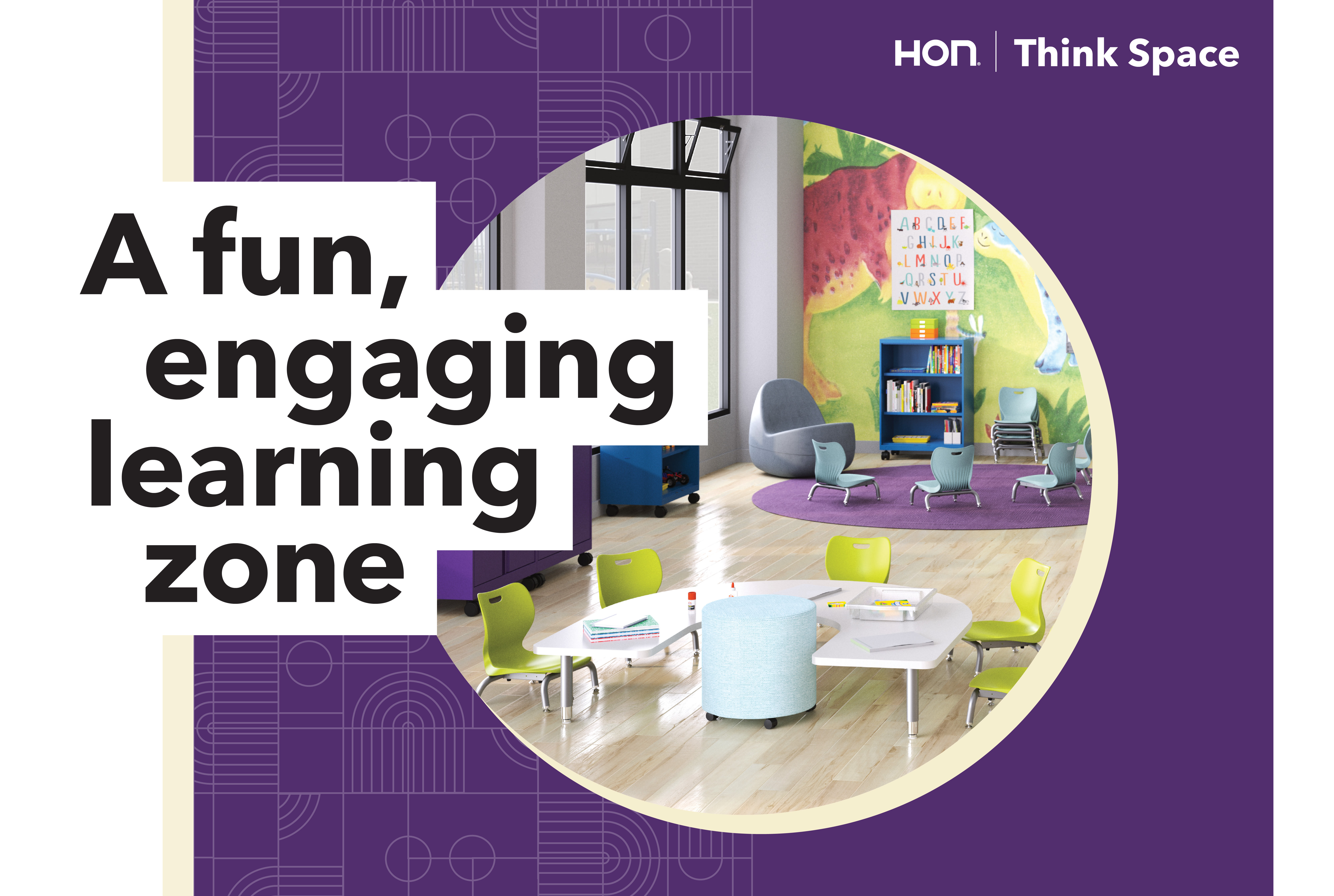 A fun, engaging learning zone