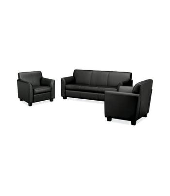 Circulate Sofa and 2 Club Chairs