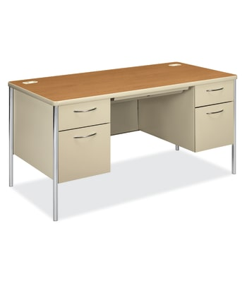 Mentor Series Double Pedestal Desk