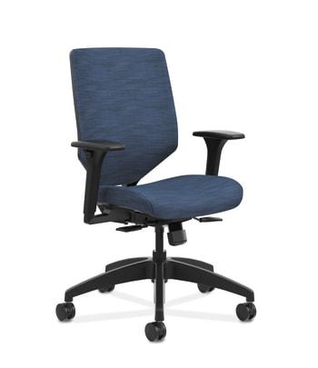 Solve Mid-Back Task Chair with Upholstered ReActiv Back