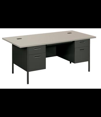 Metro Classic Double Pedestal Desk