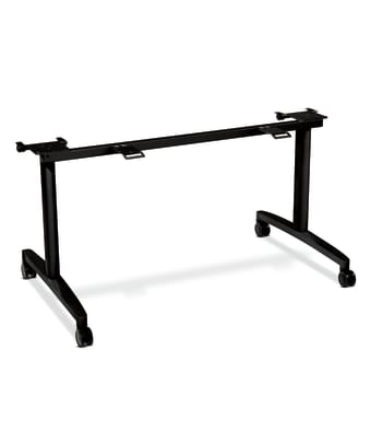 """Huddle Tables Table Base Kit for 24""""D x 60-72""""W Tops"""