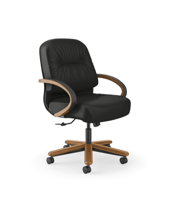 Pillow-Soft Managerial Mid-Back Chair