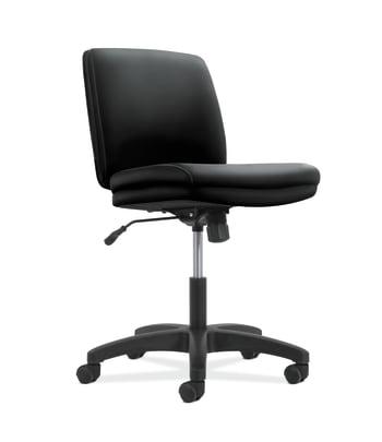 Network Low-Back Task Chair | Swivel-Tilt Control | Armless