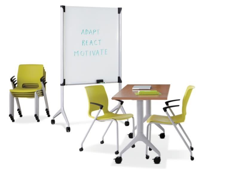 HON-Product-Care-Markerboard-Green-Shell-Chair