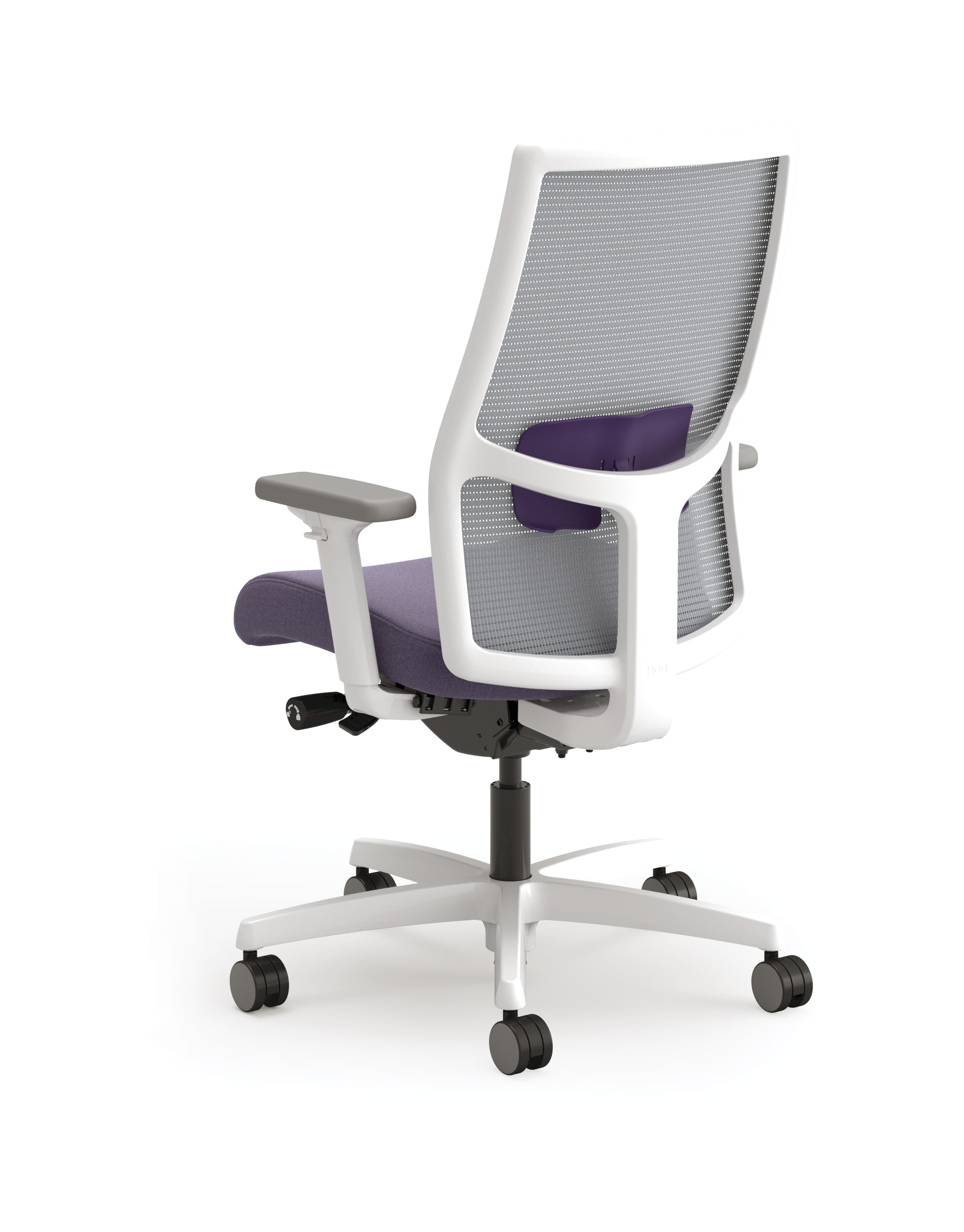 Ignition mid-back task chair with Iris lumbar
