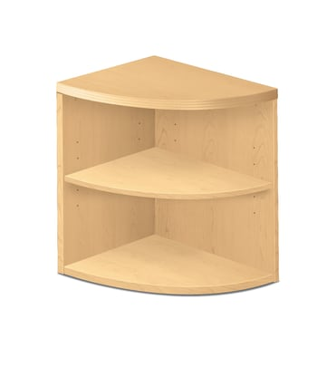 HON Valido 11500 Series End Cap Bookshelf | 24W x 24D x 29-1/2H | Natural Maple