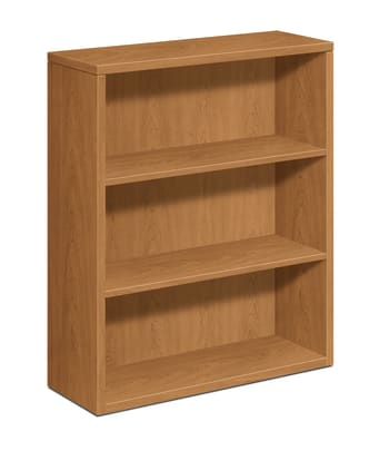 "HON 10500 Series Bookcase | 3 Shelves | 36""W 