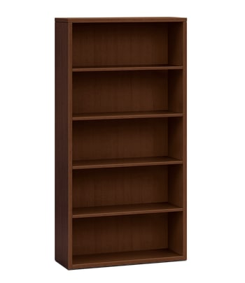 "HON 10500 Series Bookcase | 5 Shelves | 36""W 