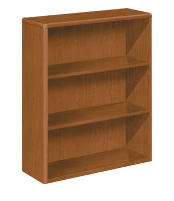 "HON 10700 Series Bookcase | 3 Shelves | 36""W 