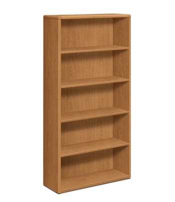 "HON 10700 Series Bookcase | 5 Shelves | 36""W 