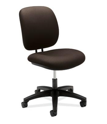 HON ComforTask Chair   Back Depth   Espresso Fabric